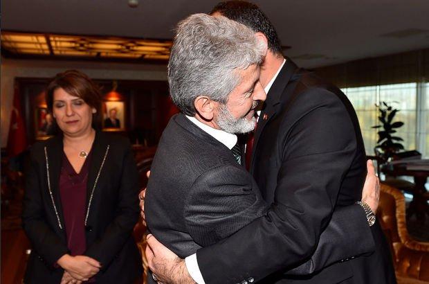 Mustafa Tuna ve Alper Taşdelen'den dikkat çeken kare