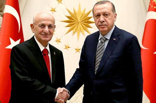 Cumhurbaşkanı Erdoğan, Kahraman ve Tuna'yı kabul etti