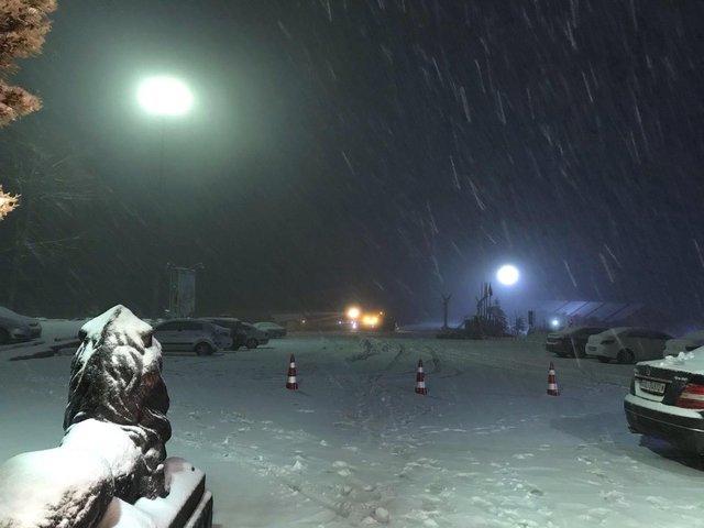 Yurttan ilk kar manzaraları