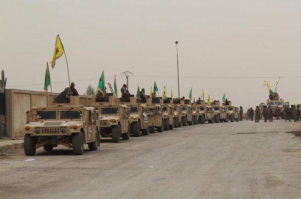 ABD, terör örgütü YPG'ye yeni silah ve araç gönderdi