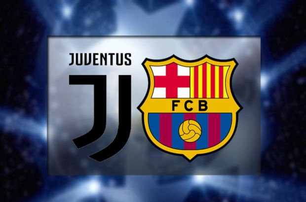 Juventus'un konuğu Barcelona