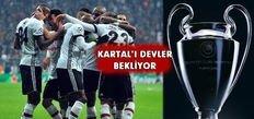 Beşiktaş'ın muhtemel rakipleri