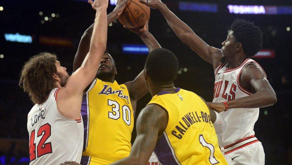 Lakers geri döndü
