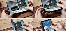 iPhone'dan sonra Samsung da X dedi! İşte katlanan telefon