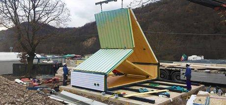 33 bin dolara 6 saatte ev inşa ediyorlar