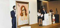 Fahrelnisa Zeid'in tablosu en yüksek fiyata satıldı