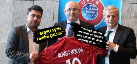 Hollanda Futbol Federasyonu başkanı, Türkiye'ye hayran kaldı!