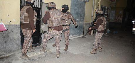 Adana'da terör örgütü PKK'nın infaz timine operasyon