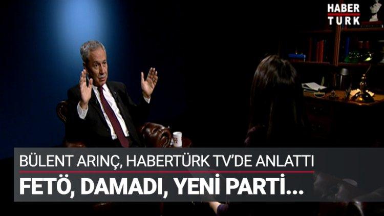 Bülent Arınç, Habertürk TV'de