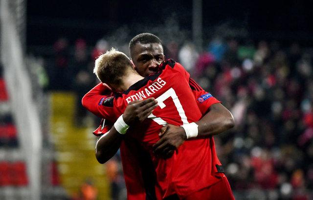 Östersunds UEFA Avrupa Ligi'nde gruptan çıktı! Östersunds Galatasaray'ı elemişti