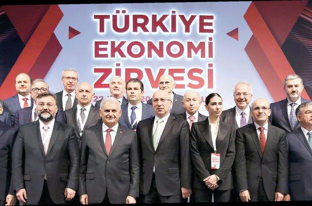 Karar vericiler ile ekonominin tüm paydaşları, Türkiye Ekonomi Zirvesi'nde buluştu