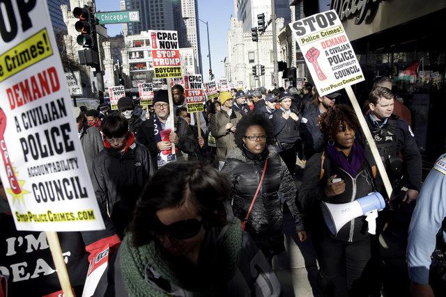 ABD'de 'Kara Cuma' protestolarla gölgelendi