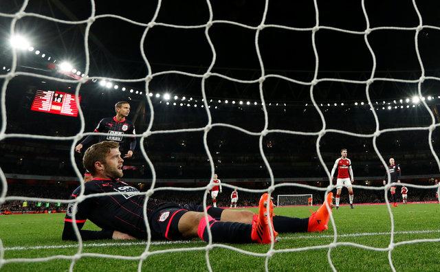 Arsenal 5 attı Mesut Özil şov yaptı!