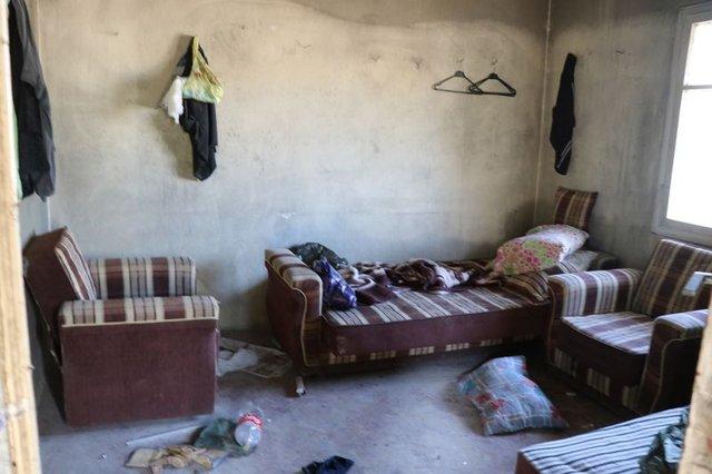 Mersin'de gizemli kazının yapıldığı evin içi görüntülendi!