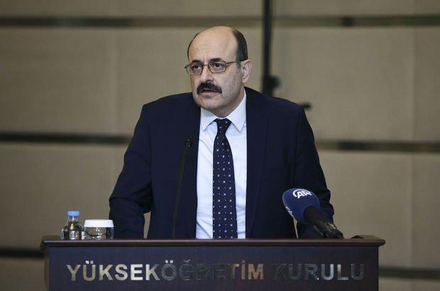 YÖK Başkanı Yekta Saraç:Yüksek öğretime erişimde sorun kalmadı