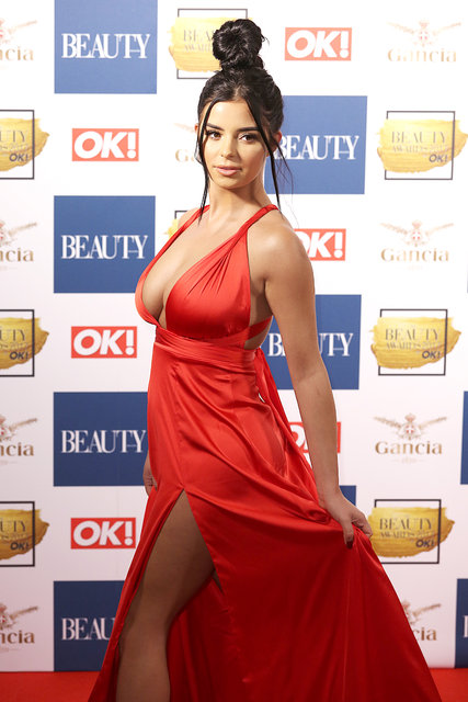 Beauty Awards törenine Danielle Sellers damgası