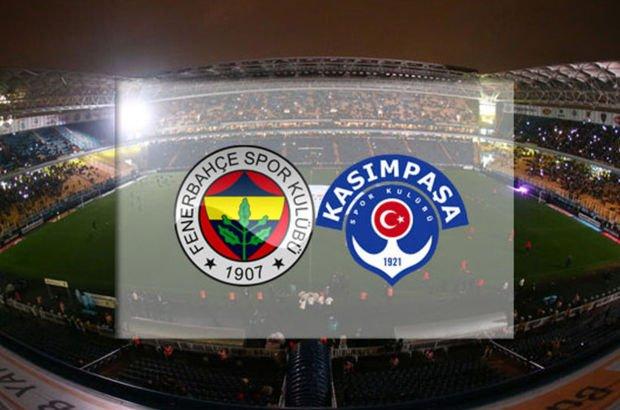 Fenerbahçe Kasımpaşa maçı saat kaçta?