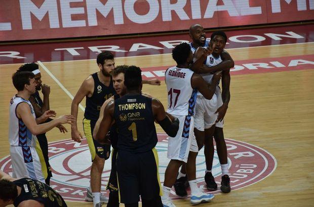 Trabzonspor: 90 - Fenerbahçe Doğuş: 119