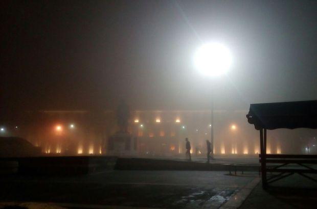 yoğun sis