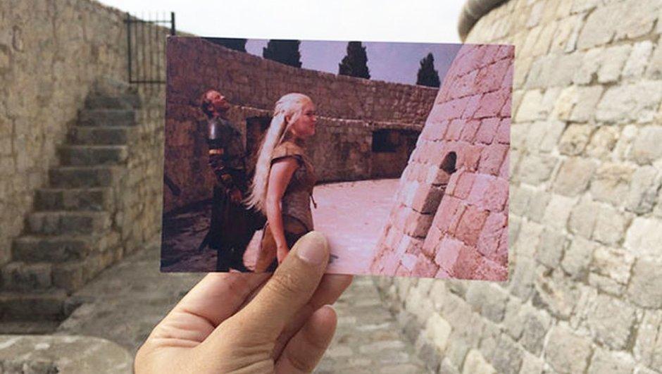 Game of Thrones sevgisi bunu da yaptırdı! Aynı yerlerde fotoğraf çekti