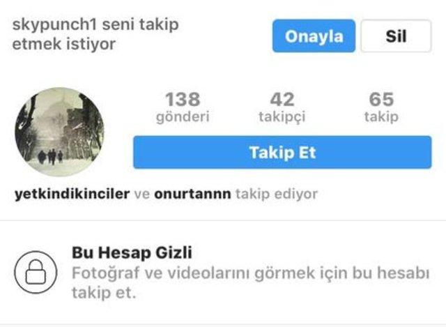 Tuvana Türkay'ın fake hesabı, Tuvana Türkay sosyal medyada sahte hesap kullanıyor