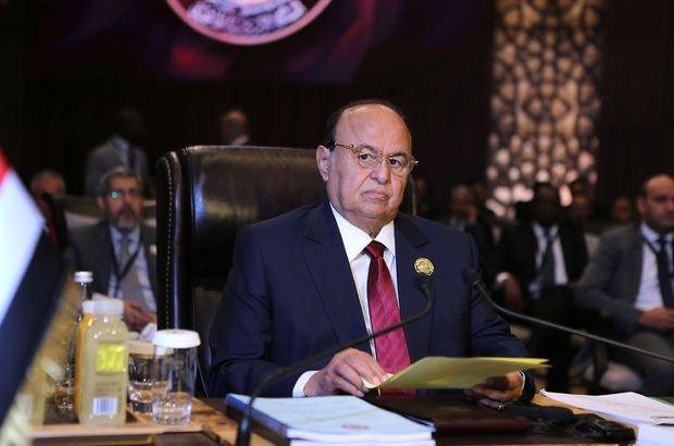 Sürgündeki başkan, Yemen halkını direnişe çağırdı