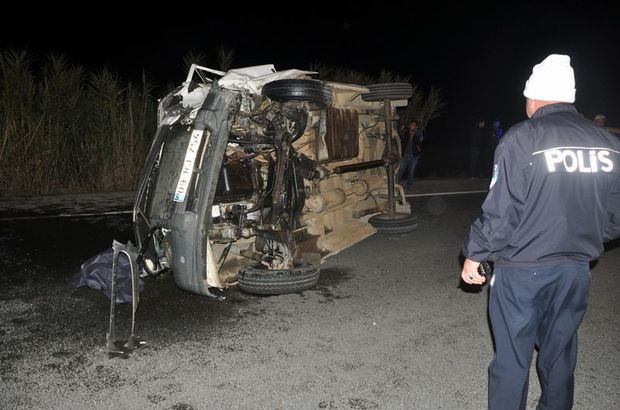 Aydın Kamyonet kaza