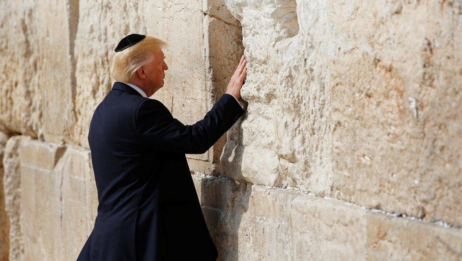 Donald Trump ABD Kudüs  İsrail