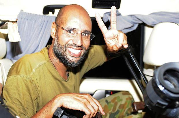 Hapisten çıkan oğul Kaddafi'den flaş karar: 'Trablus için savaşacak'