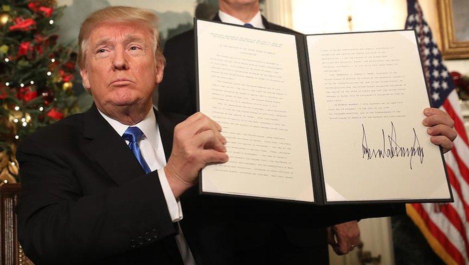 Son Dakika! Trump Kudüs kararını açıkladı!