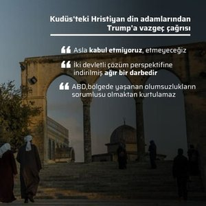 KUDÜS KARARINA TEPKİLER BÜYÜYOR