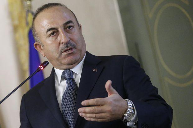 Başbakan Yardımcısı Çavuşoğlu açıklama yapıyor