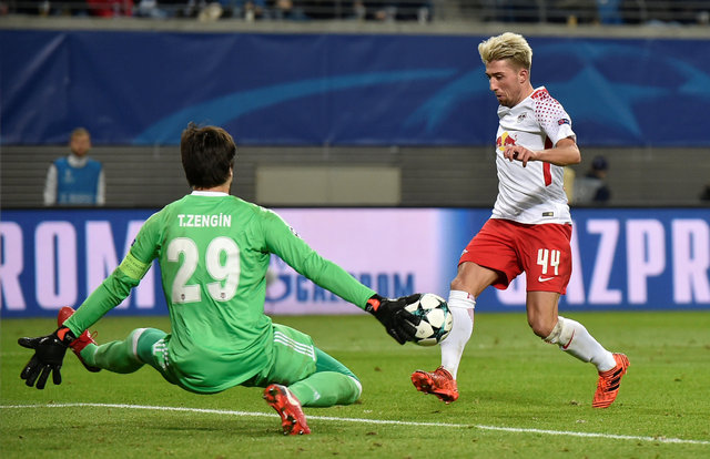 Beşiktaş - Leipzig maçına Tolga Zengin damga vurdu