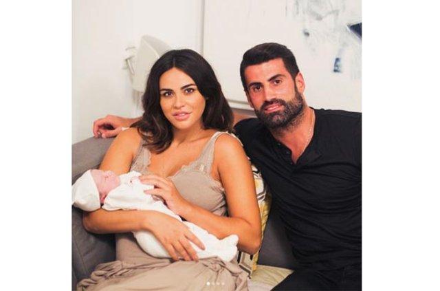Zeynep Sever doğum fotoğrafını paylaştı, Zeynep Sever Instagram'dan doğum fotoğrafını paylaştı