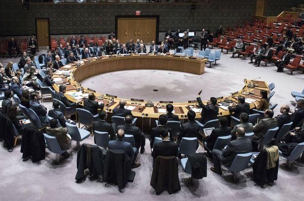 Donald Trump ABD Birleşmiş Milletler Güvenlik Konseyi  İsrail Kudüs Filistin