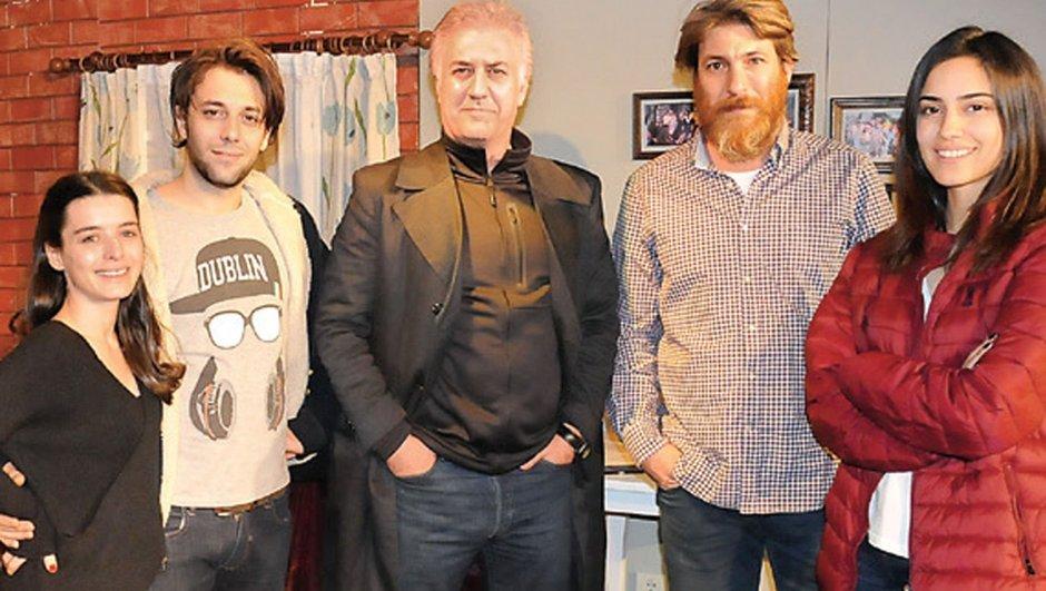 Ceren Kaplakarslan, İlkem Ulugün, Bora Gencer, Tamer Karadağlı
