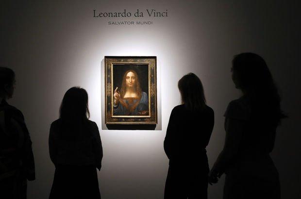 Da Vinci tablosu rekor fiyata satıldı