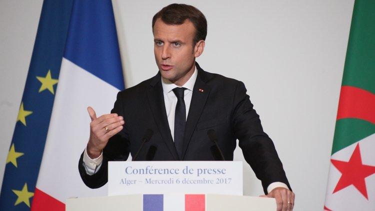 Macron'un Paris'te müzede bulunan Cezayirli direnişçilerin kafatasları hakkındaki açıklaması