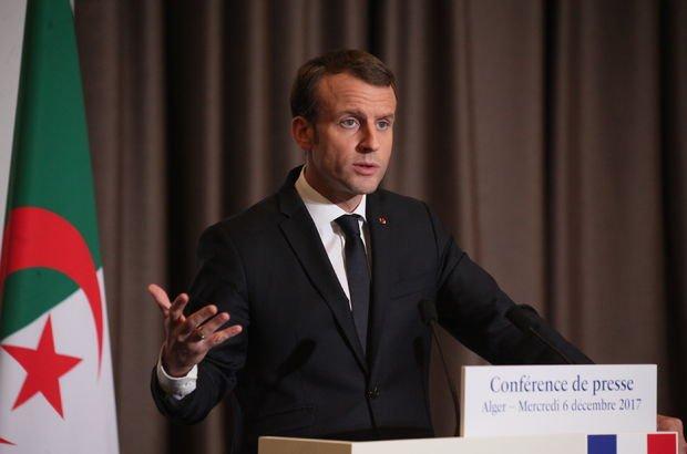 Macron, Cezayir konusunda geri adım attı