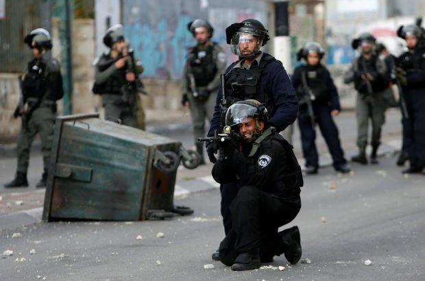 Filistinliler ve İsrail askerleri arasında çatışma