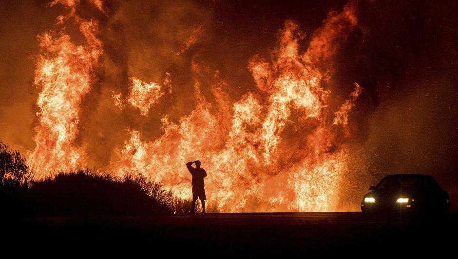 Kaliforniya'da korkunç yangın!