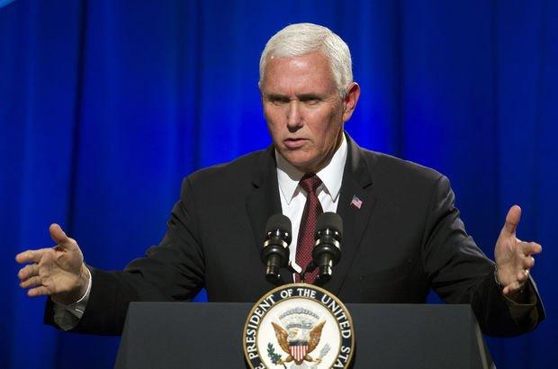 ABD Başkan Yardımcısı Pence, Filistin'de istenmeyen adam ilan edildi