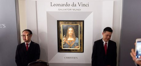 'Erkek Mona Lisa' Arap oldu