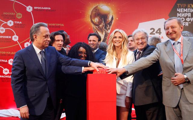 2018 Dünya Kupası İyi Niyet Elçisi Victoria Lopyreva'dan Fatih Terim mesajı