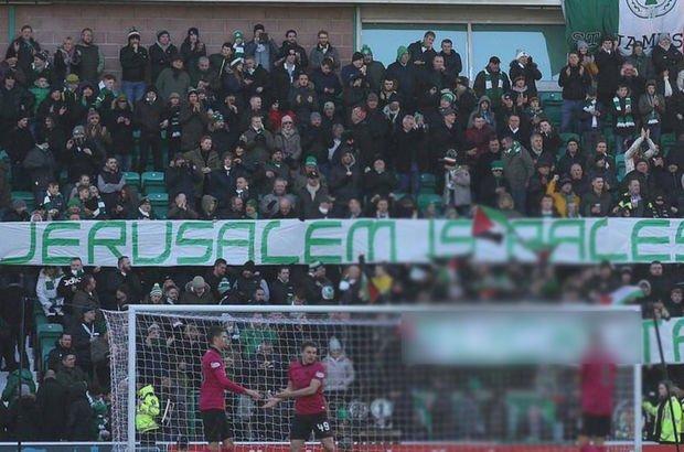 Celtic'den Filistin'e destek!