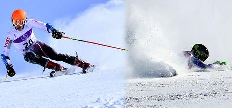 Erzurum Palandöken'de kayak sezonu açıldı