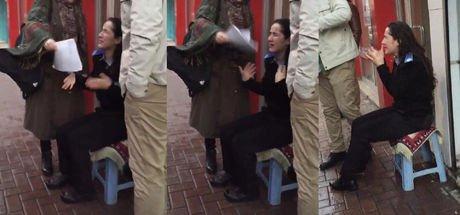 Konya'da özel güvenlikçi kadının yüzüne bilinmeyen madde atıp kaçtı