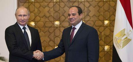 Putin ve Sisi'den nükleer anlaşma!
