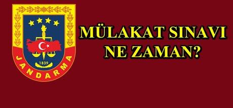 JGK Jandarma Sivil Memur alımı sonuçları açıklandı mı?  Mülakat sınavı ne zaman?