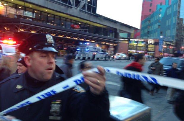 New York'ta terör saldırısı!
